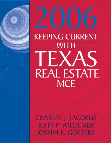 9780324378351: Keeping Current with Texas Real Estate MCE