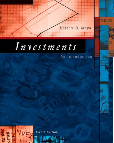 Investments: An Introduction (with Thomson ONE -: Herbert B. Mayo