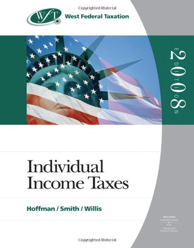 9780324380583: West Federal Taxation 2008: Individual Income Taxes (with RIA Checkpoint and Turbo Tax Premier CD-ROM)