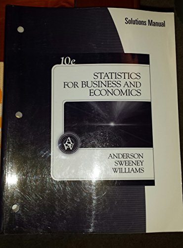 Im Sm Stats for Bus Econ: David Anderson, Sweeney,