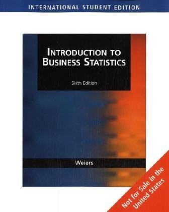 9780324381443: Introduction to Business Statistics, International Edition (with CD-ROM)