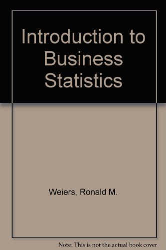 9780324381511: Introduction to Business Statistics (Book Only)