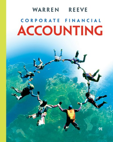 9780324381924: Corporate Financial Accounting