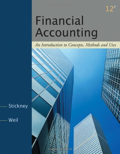 9780324381986: Financial Accounting: An Introduction to Concepts, Methods and Uses