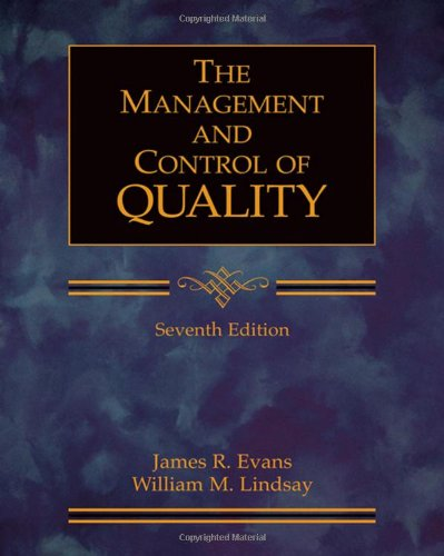 9780324382273: Managing for Quality and Performance Excellence (with CD-ROM)