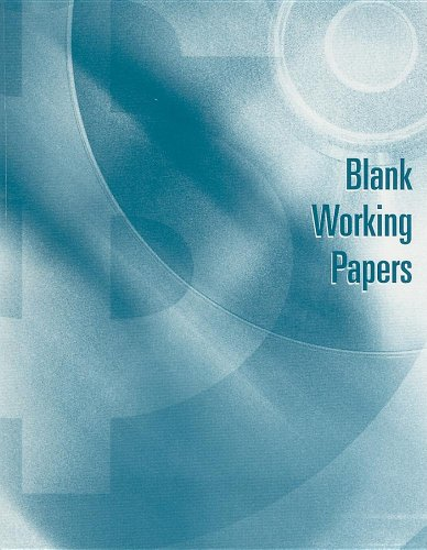 9780324382600: Blank Working Papers for Warren/Reeve/Duchac's Accounting