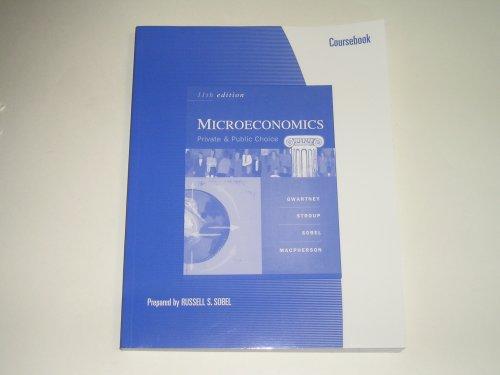 9780324387087: Microeconomics - Private and Public Choice - 11th (Eleventh) Edition