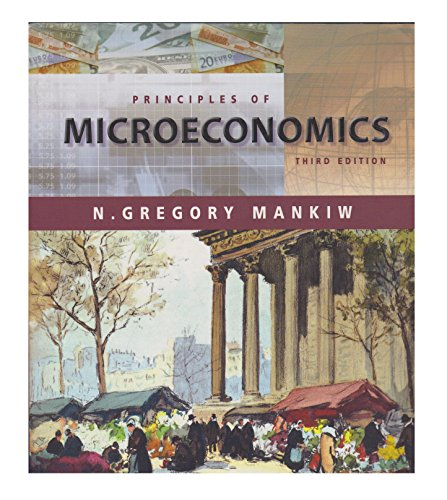 9780324390384: Principles of Microeconomics (3rd Edition) (International Students Edition, 3rd edition)