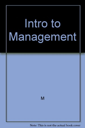 9780324399837: Solutions Manual An Introduction To Management Science Quantitative Approaches To Decision Making