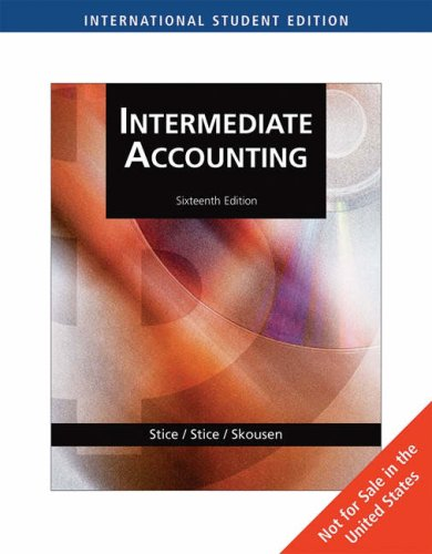 9780324400113: Intermediate Accounting