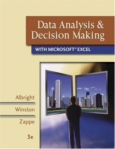 9780324400823: Data Analysis & Decision Making With Infotrac: With Microsoft Excel