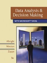 9780324400861: Data Analysis and Decision Making with Microsoft Excel
