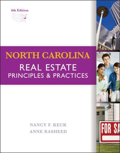 9780324400915: North Carolina Real Estate: Principles and Practice