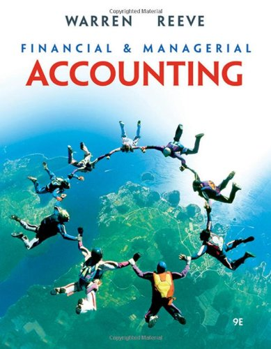 9780324401882: Financial & Managerial Accounting (Available Titles CengageNOW)
