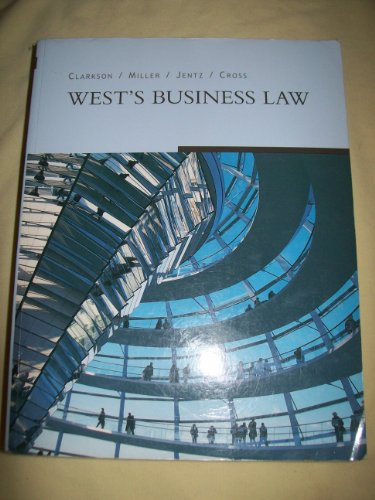 9780324403534: West Business Law, Freedom B/W Version
