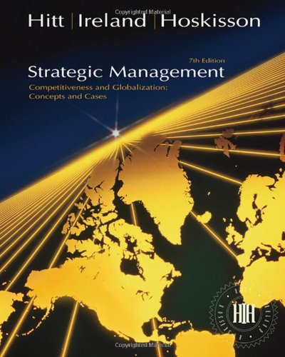 Strategic Management Concepts: Hitt, Michael A.;