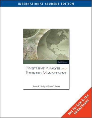 9780324405897: Investment Analysis and Portfolio Management