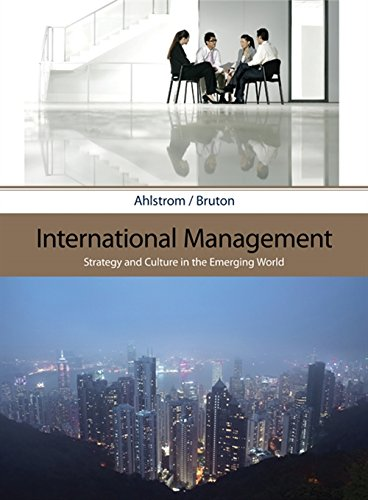 9780324406313: International Management: Strategy and Culture in the Emerging World
