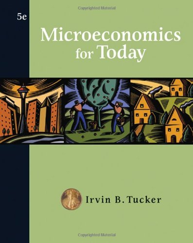 9780324408003: Microeconomics for Today (Available Titles CengageNOW)