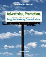 9780324408089: Advertising, Promotion, and Other Aspects of Integrated Marketing Communications