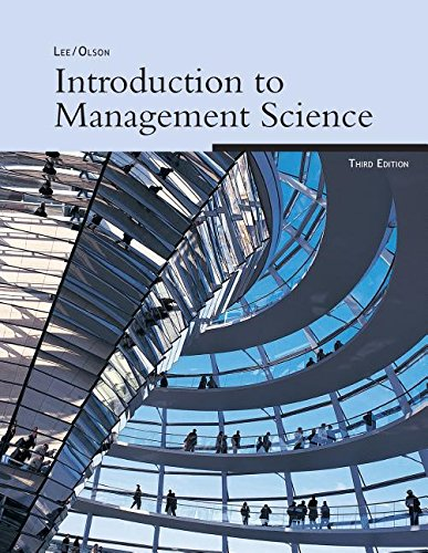 9780324415995: Introduction to Management Science, 3e