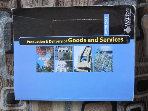 9780324420494: Production and Delivery of Goods and Services