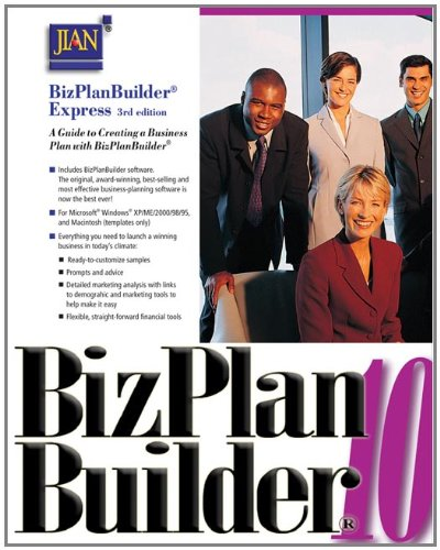 9780324421187: BizPlan Builder Express: A Guide to Creating a Business Plan