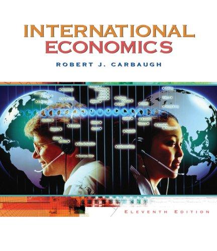9780324421941: International Economics (Available Titles CengageNOW)