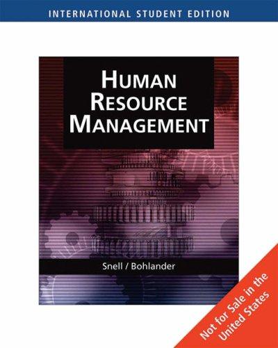 9780324422375: Managing Human Resources