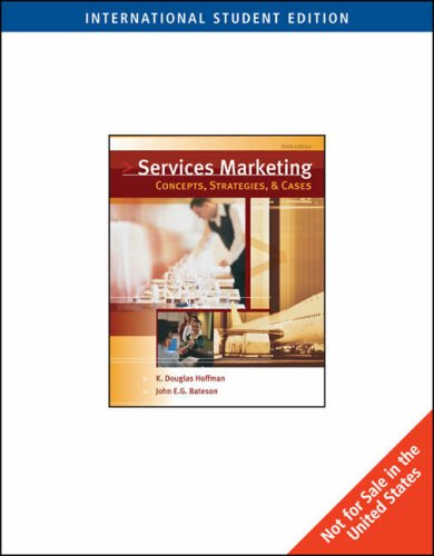 9780324422832: Essentials of Services Marketing: Concepts, Strategies and Cases