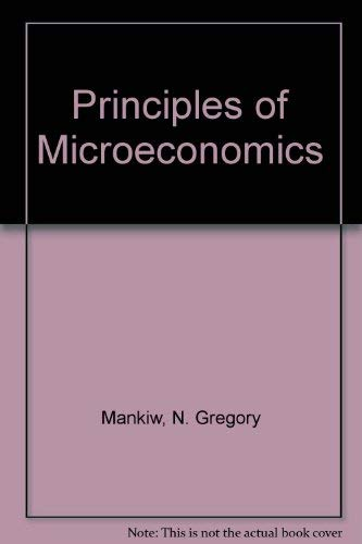 9780324423228: Principles of Microeconomics