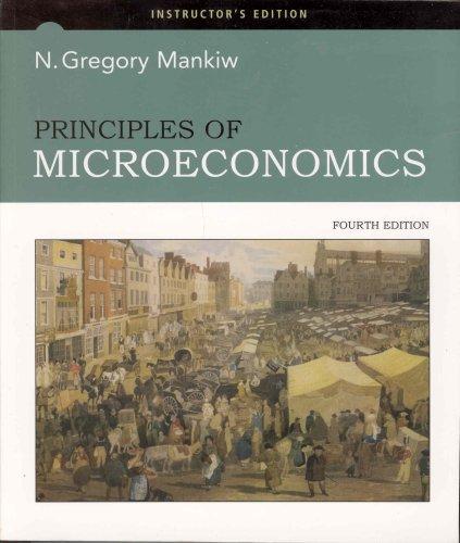 9780324423488: Principles of microeconomics (4th edition)