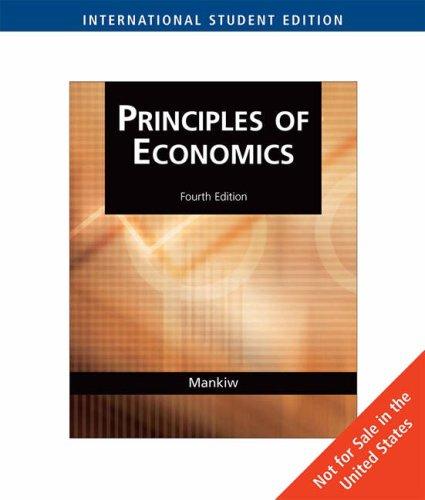 9780324423501: Principles of Economics - International Student Edition