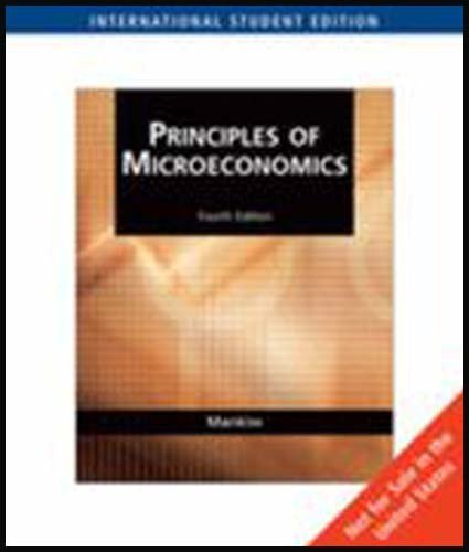 9780324423525: Principles of Microeconomics (AISE)