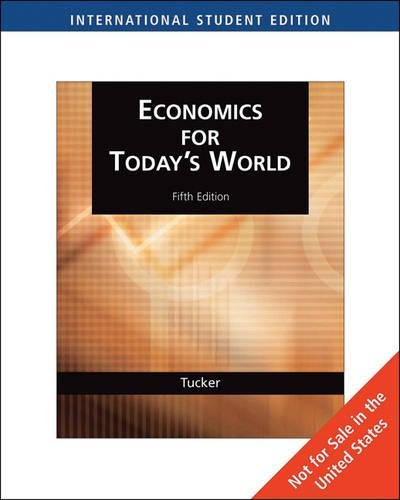 9780324536171: Economics for Today's World (ISE)