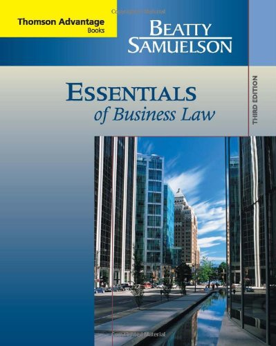 9780324537123: Essentials of Business Law