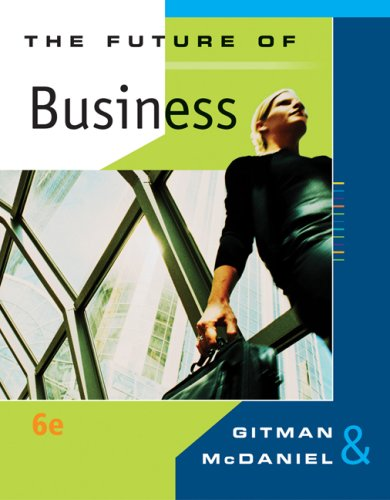 9780324537444: The Future of Business