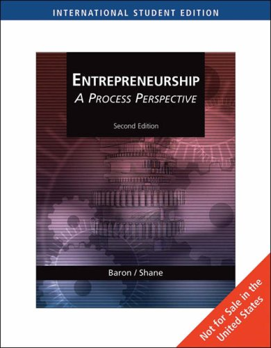 9780324539691: Entrepreneurship: A Process Perspective