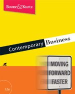 9780324540529: Contemporary Business- Text Only