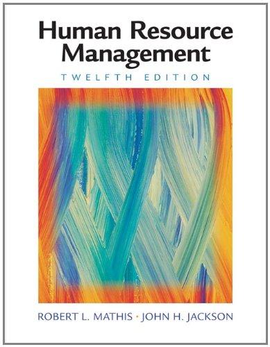 9780324542752: Human Resource Management