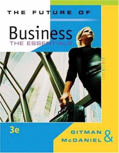 9780324542790: The Future of Business: The Essentials (Available Titles CengageNOW)