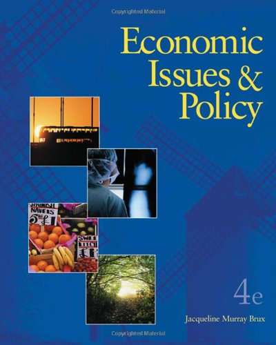 9780324542967: Economic Issues and Policy (with Economic Applications Online Product, InfoTrac 2-Semester Printed Access Card)