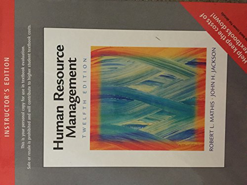 9780324543032: Human Resource Management Twelfth Edition
