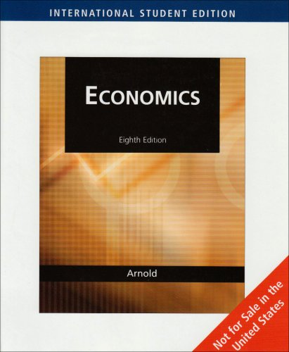 Economics (AISE) (0324543158) by Roger A. Arnold