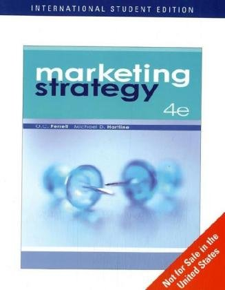 9780324544268: Marketing Strategy