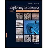 9780324544657: Exploring Economics: Monetary & Fiscal Policy, Module 7, 4th Edition