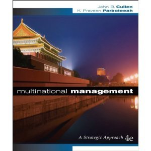 9780324545128: Multinational Management (Book Only)