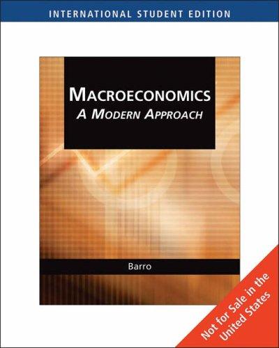 9780324545678: Macroeconomics: A Modern Approach