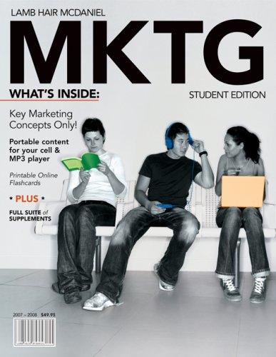 9780324548143: MKTG (2007-2008 Edition)