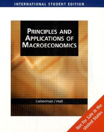 9780324548259: Principles and Applications of Macroeconomics (AISE)